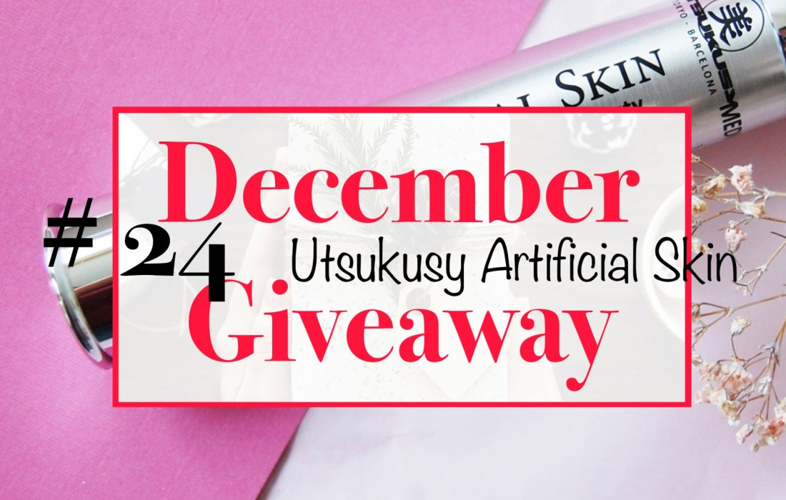 December Giveaway #24: Utsukusy Artificial Skin Serum t.w.v €64,-