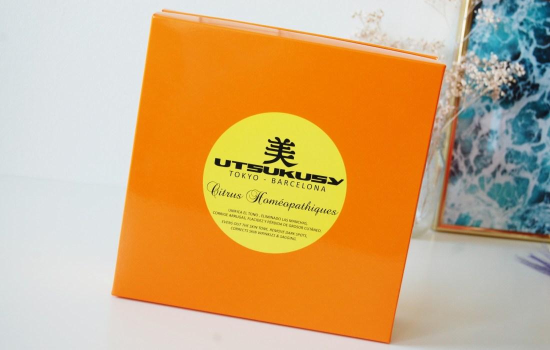 Utsukusy Citrus Homeopathiques beauty box