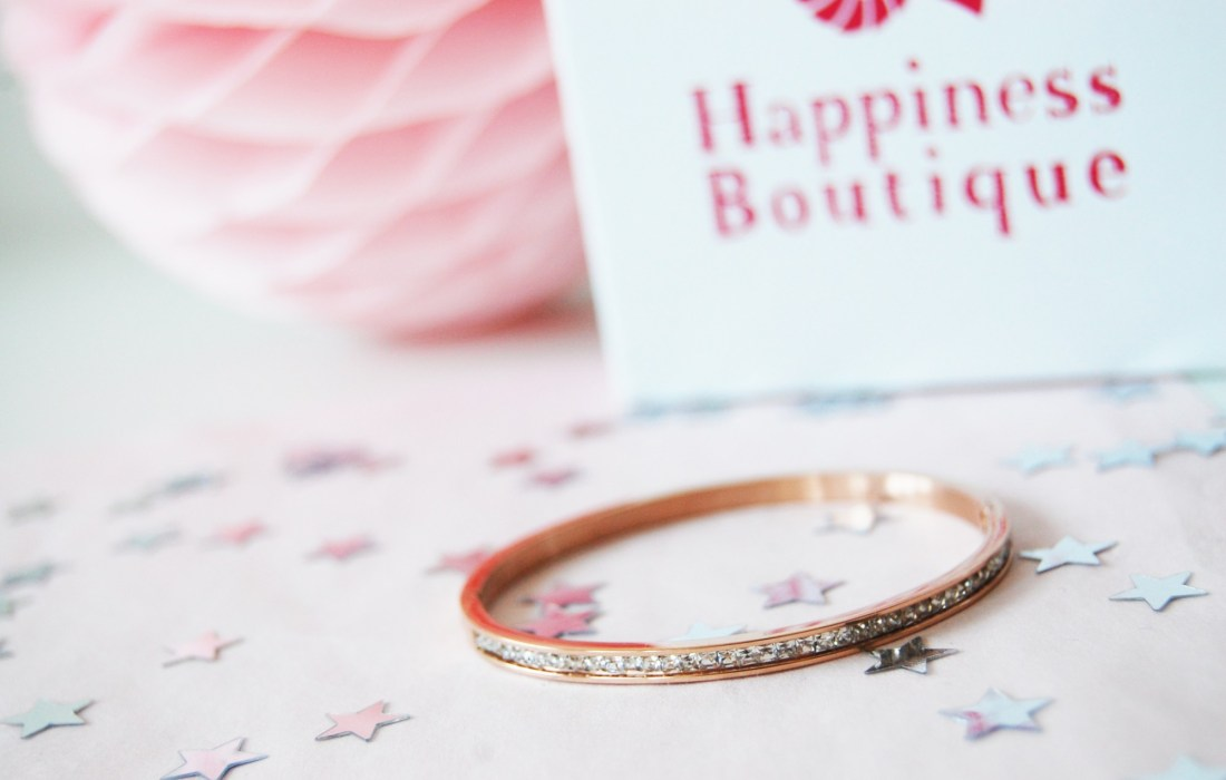 New accessory: Happiness Boutique bangle