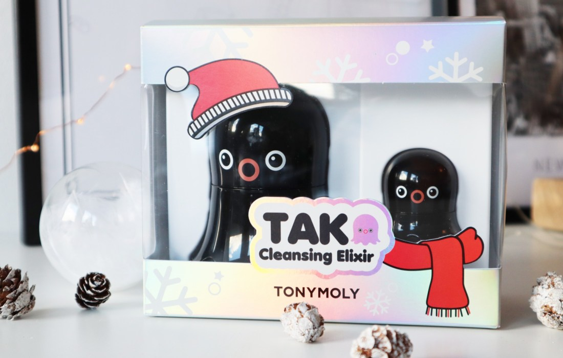 Tonymoly Tako Cleansing Elixer Holiday set