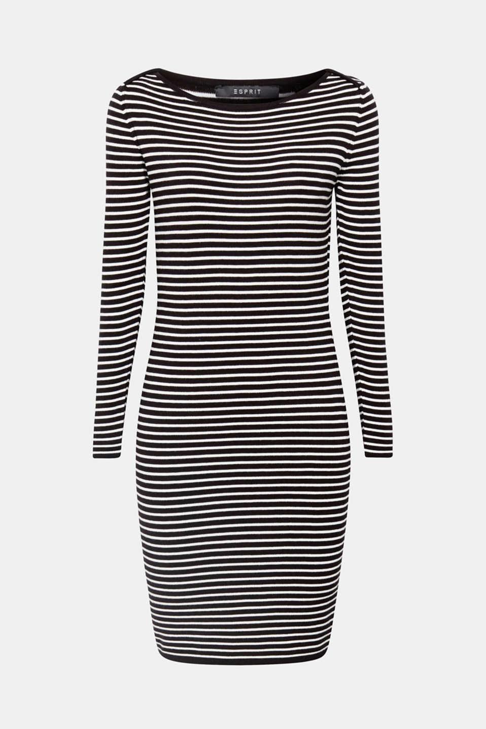 streepjes jurk