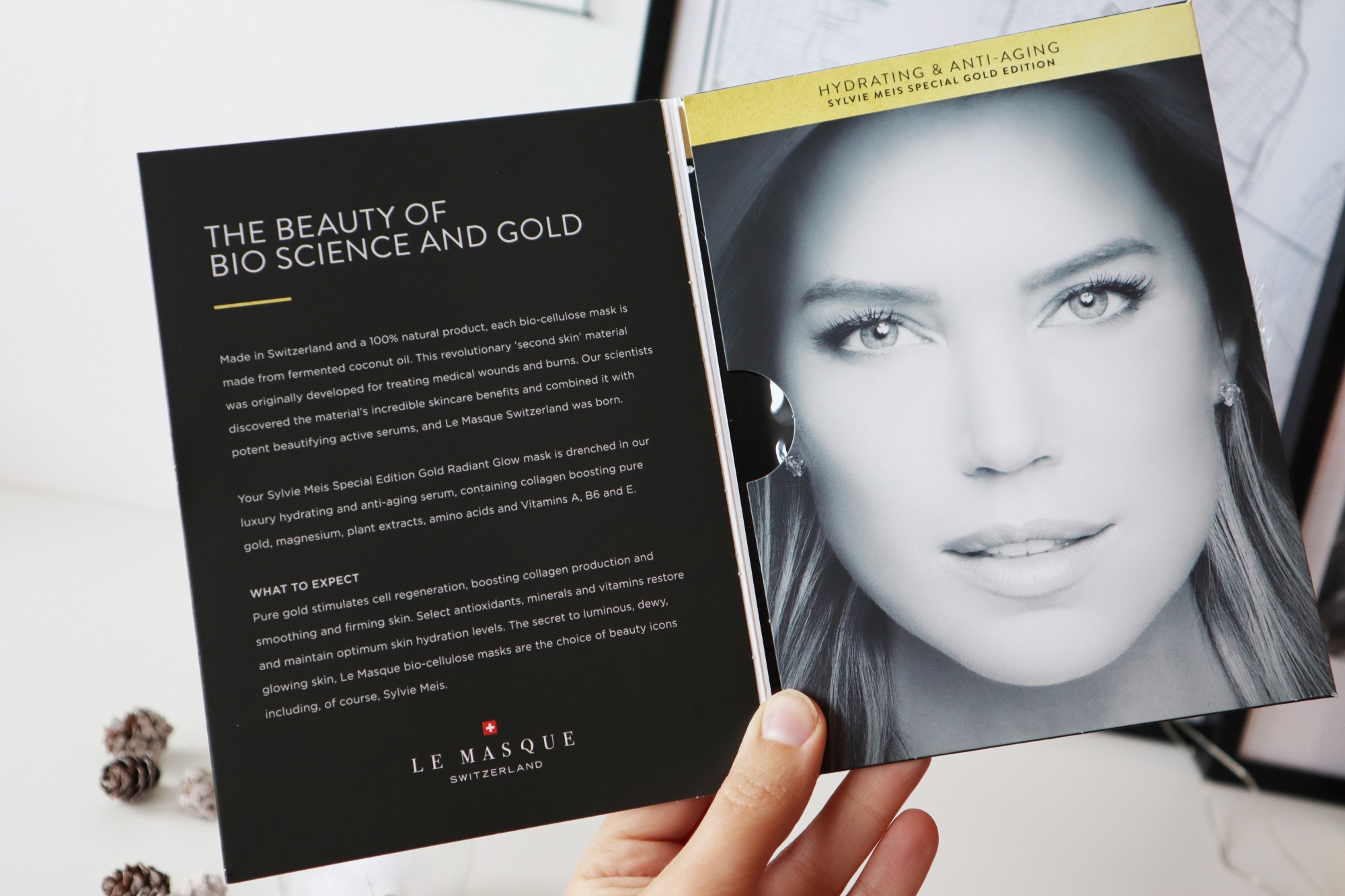 Le Masque Sylvie's Gold Radiant Glow Face Mask