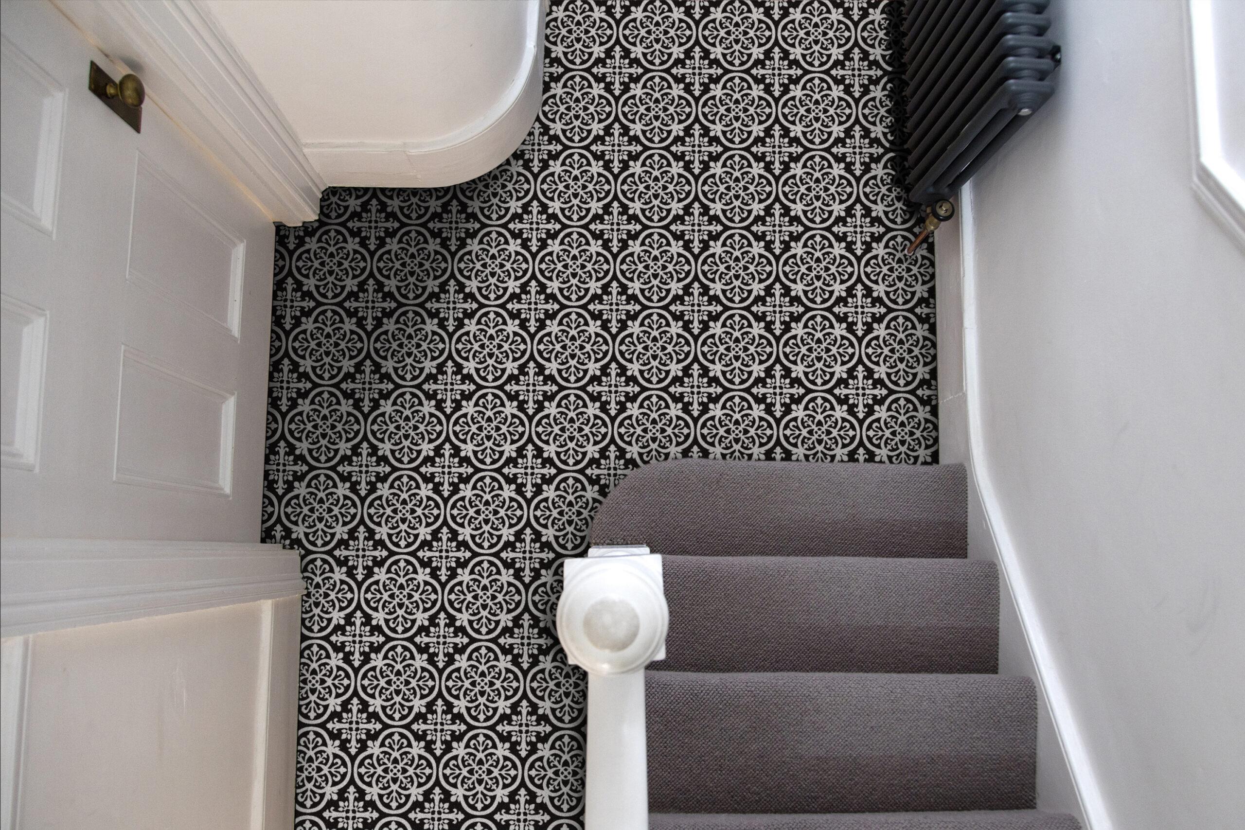 gothic vinyl floor tiles update your floor with peel and stick vinyl flooring