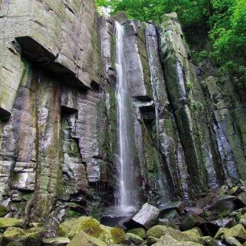 Vaňovský vodopád v Ústí nad Labem foto: Jiří Svoboda