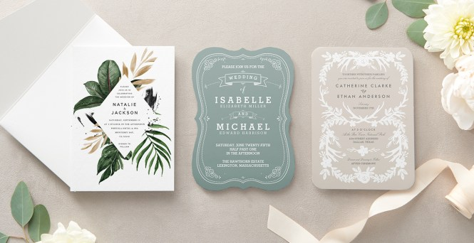 Perfect Design For Your Wedding Invites