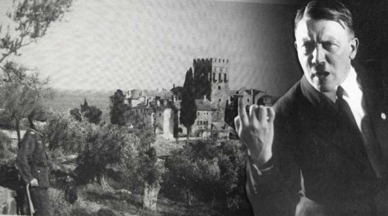 АДОЛФ ХИТЛЕР, ВИСОКИ ЗАШТИТНИК СВЕТЕ ГОРЕ: Најчуднија епизода у 1.000 година дугој историји Атоса