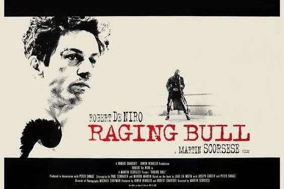 """Филм """"РАЗЈАРЕНИ БИК"""", у режији Мартина Скорсезеа – RAGING BULL (1980), directed by Martin Scorcese"""