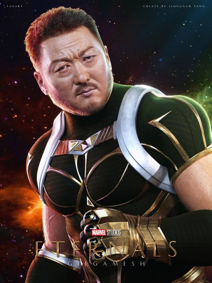 Marvel 'Eternals Gilgamesh Fanart' - Actor Don lee - ZBrushCentral