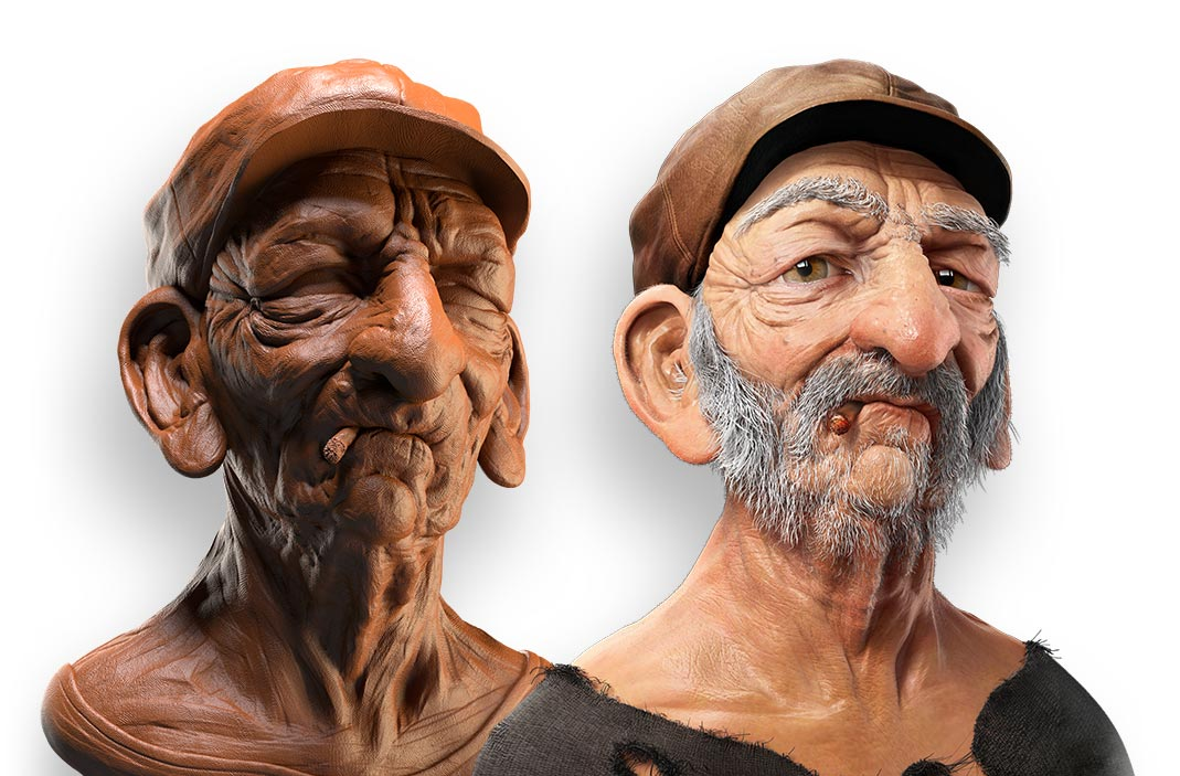 ZBrush Clay Render Tutorial | ZBrush Guides