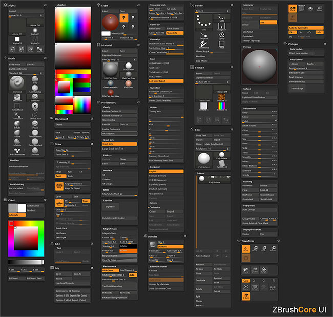 ZBrushCore is OUT!   ZBrush Guides