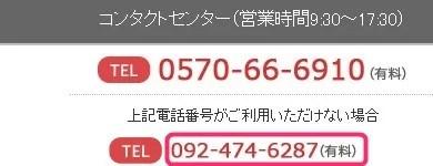 楽天カード問い合わせ先電話番号