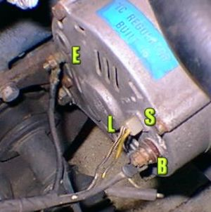 NissanDatsun Z Car Voltage Regulator Conversion