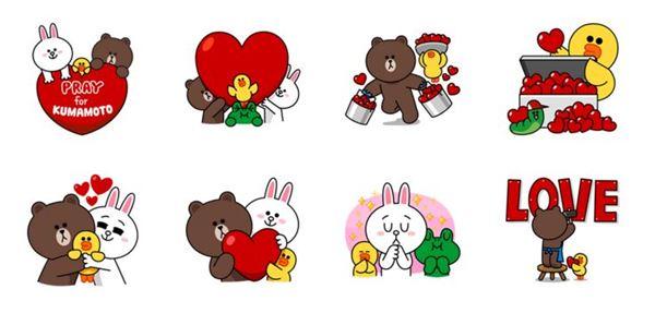 kumamoto-line-sticker-charity-001