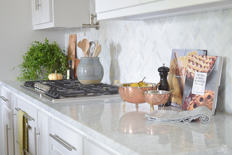 A Fresh Approach To Fall - ZDesign At Home on Countertop Decor  id=25166