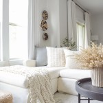 Layered Neutral Fall Living Room Tour Zdesign At Home
