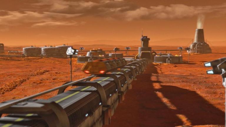 K 246 Nnen Wir Den Mars Besiedeln Zdfmediathek