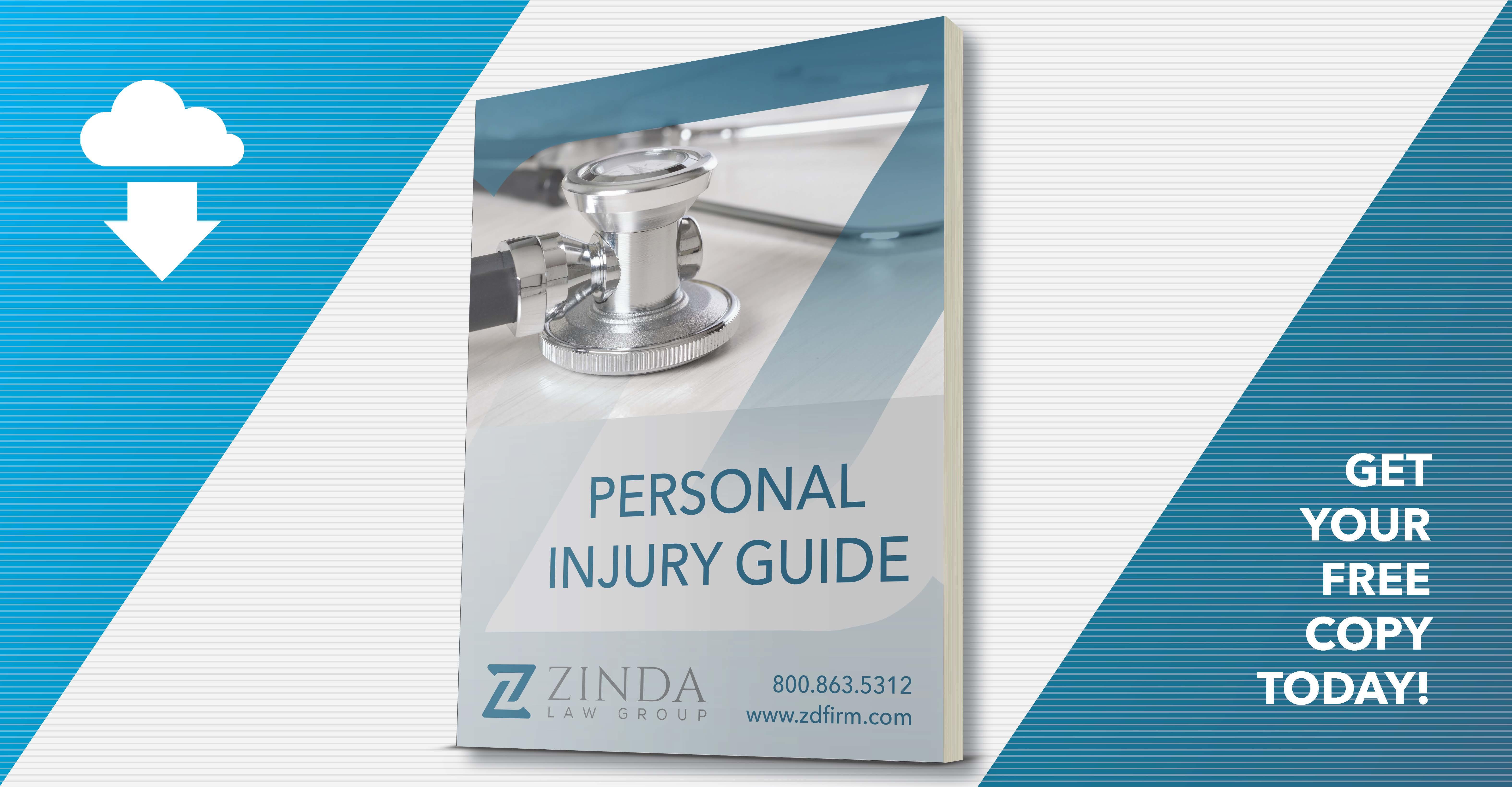 Free Personal Injury Guidebook Zinda Law Group