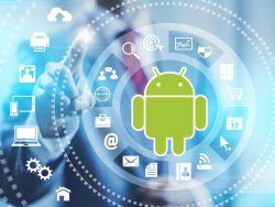 security Android (image: ZDNet with material by Shutterstock/Mikko Lemola and Google)