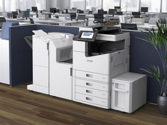 the 100 pages ink printer Epson WorkForce Enterprise WF-C20590 the full expansion (image: Epson)