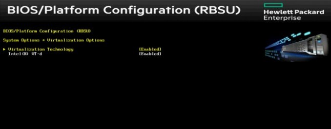 in the BIOS/UEFI settings support for virtualization must be enabled to use Hyper-V or vSphere 6.5 efficiently (screenshot: Thomas Joos).