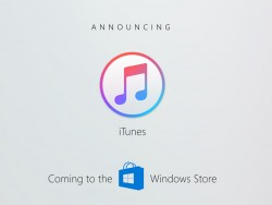 iTunes for Windows store (image: Microsoft)