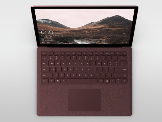 Microsoft: surface laptop with Windows 10 S (image: Microsoft: ZDNet.de)