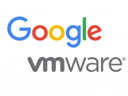Google and VMware announce extended partnership (pictures: Google and VMware)