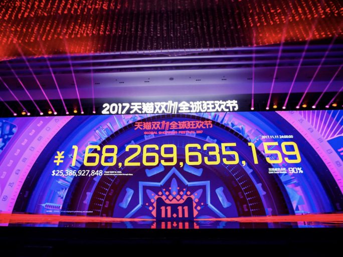 Singles & # 39; Day in China: Alibaba Announces Sales Record of $ 25.3 Billion in 2017 (Image: Alibaba)