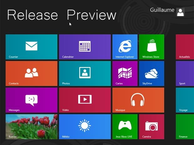 Windows 8 : nouveautés en images de la Release Preview