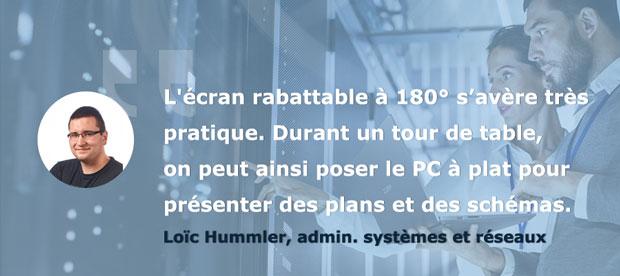Avis Loïc Testeurs Pros PC portable AsusPro P5440 - Le design et l'ergonomie