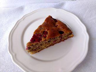 kefírový koláč s ovocem