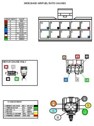 Bosch wideband o2 sensor wiring diagram  24h schemes