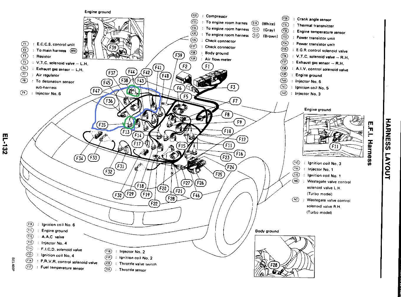 Nissan Pulsar Wiring Harness Diagram