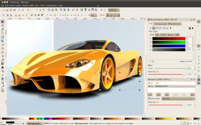 inkscape free image editor
