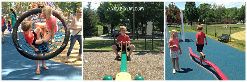 Check out some of the awesome cit parks in Washington, DC. -zealousmom.com #cityparks #washingtondc