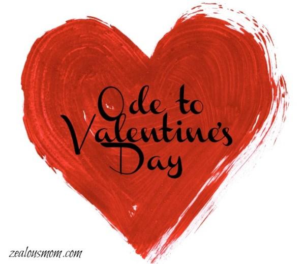 Ode to Valentine's Day #poetry #Valentines