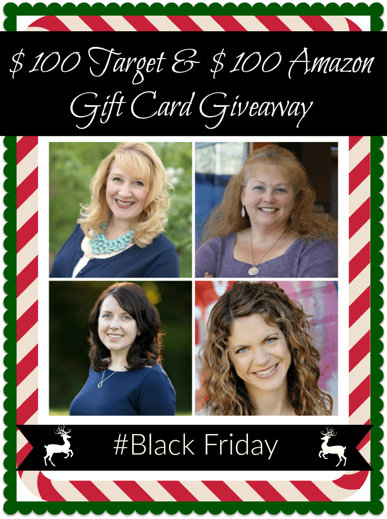 black friday gift card giveaway 100 target and 100 amazon gift card giveaway 5964