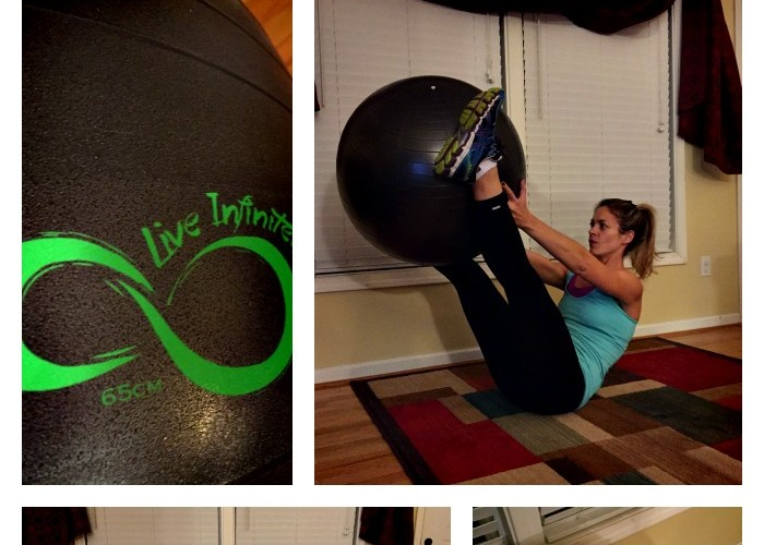 10 Stability Ball Moves for Total Body Toning #liveinfinitely