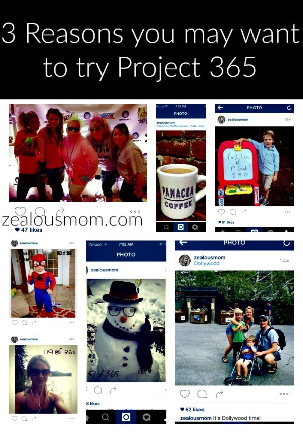 3 Reasons you may want to try Project 365 #photography #Instagram