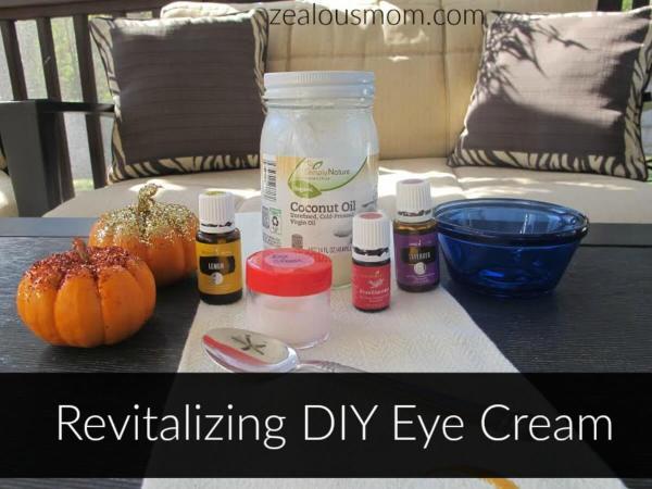 Revitalizing DIY Eye Cream @zealousmom.com