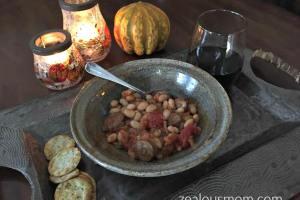 Italian Sausage and White Bean Stew