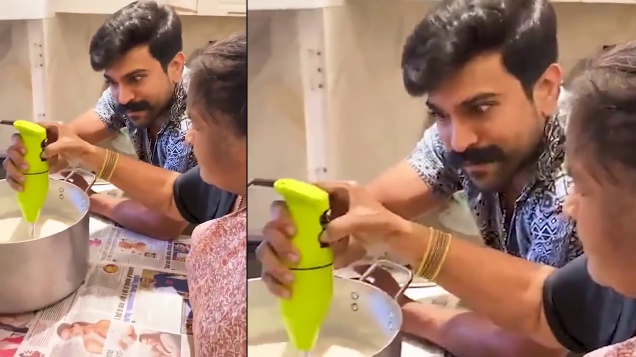 Ramcharan posted a video with caption Grandma Recipes