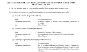 Sri Lanka Government Gazette 2020 July 24 Sinhala English Tamil PDF