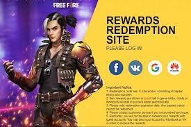 Free Fire Redeem Code 3 April 2021