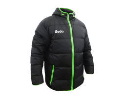 GEDO Parka Light Fusion Black-Fluo Green