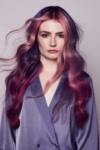 zeba-hairdressing-style-purple-pink-color-Dublin