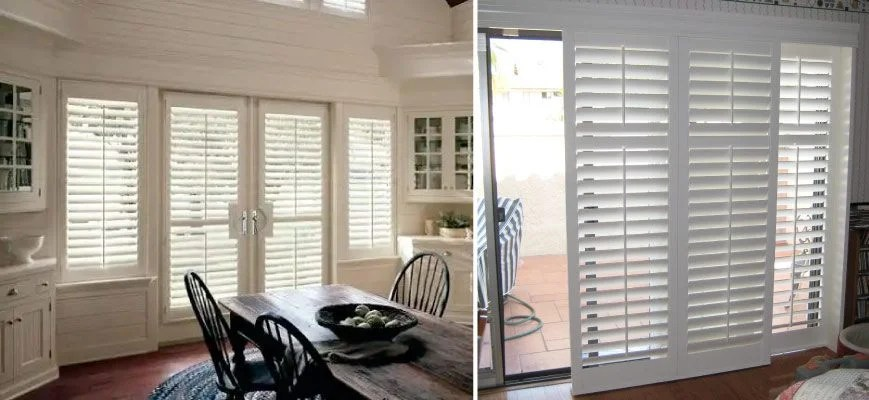 use horizontal blinds for patio doors