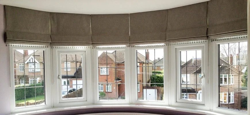 bay window shades and curtains a