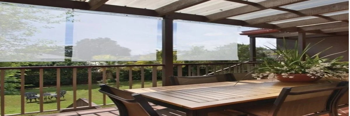 extra wide outdoor roller shades for