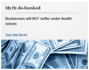 WH myth ACA hurts business